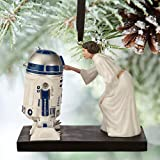disney store sketchbook star wars princess leia R2-D2 ornament new with box