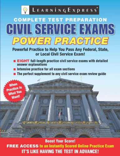 Civil Service Exams: Power Practice (Llc Learning Express compare prices)