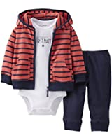 Carter's Baby Boys' 3 Piece Cardigan Set (Baby) - Red