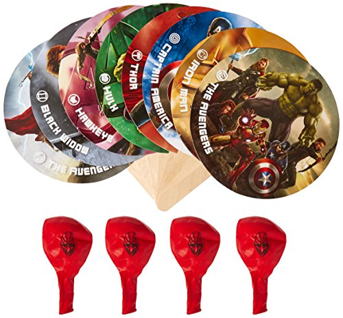 Marvel Paddle Battle Birthday Party Game Board Game