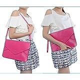 Neewer® Lady Women Envelope Clutch Case Purse Shoulder Bag HandBag Tote Bag, Faux leather