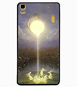ColourCraft Angels Design Back Case Cover for LENOVO K3 NOTE