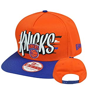 New Era 9Fifty 950 NBA New York Knicks NE Pinna Snapback Hat Cap A Frame S M by New Era