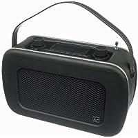 KitSound Jive 1950s Style Retro Portable DAB Radio - Black