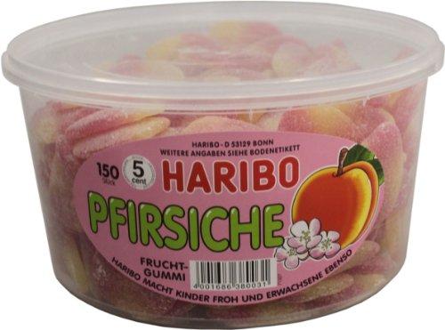 Haribo Pfirsiche, 1er Pack (1 x 1,35kg Dose)