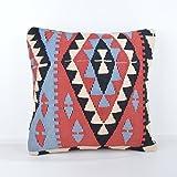 Wool Pillow, KP1075, Kilim Pillow, Decorative Pillows, Designer Pillows, Bohemian Decor, Bohemian Pillow, Accent Pillows, Throw Pillows