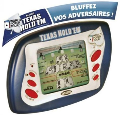 Radica No Limit Texas Hold Em Handheld - 1
