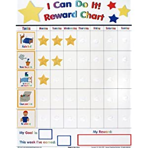 Reusable chore charts for toddlers magnetic dry erase star charts