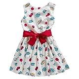Joules Girls Dress Cream Tea (JnrConstance): 7-8 Years