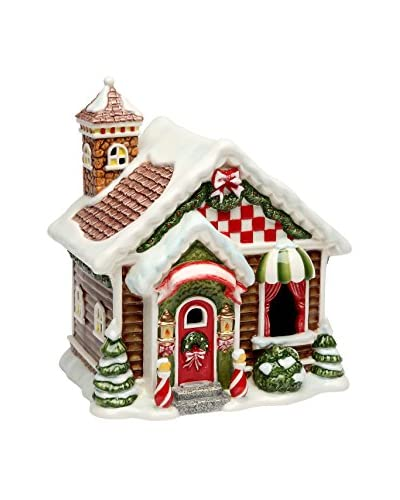 Cosmos Santa's Village LED Lighted House