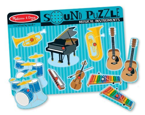 Musical Instruments Wooden Sound Puzzle