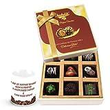 Valentine Chocholik Belgium Chocolates - Cool Chocolates Hamper With Friendship Mug