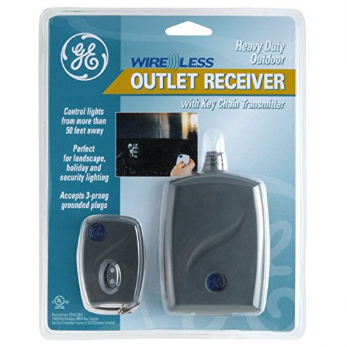 GE 57883 Outdoor Outlet Receiver Module, RF Controls Lights/Appliances (Wifi Dimmer Module compare prices)