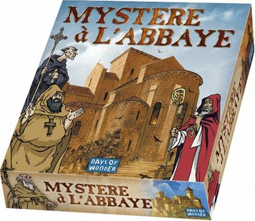 Asmodee - MYST - Jeux de réflexion - Mystère à l'Abbaye