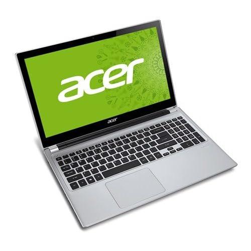 acer V5シリーズ  ノートPC ( タッチ対応 / 15.6型 / Celeron 1007U / 4GB / 320GB / S-Multi / Personal2013 / Win8 64bit / ミスティ・シルバー ) V5-531P-H14C/SF
