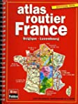 Atlas routier france, belgique luxemb...