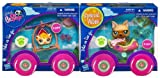 Littlest Pet Shop Pets And Vehicles Set Of 2 Dog And Guinea Pig
