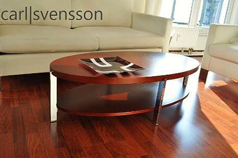 DESIGN COUCHTISCH O-111 Kirschbaum oval Carl Svensson NEU Tisch