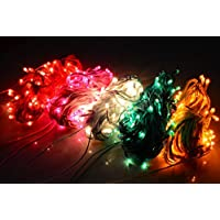 ASCENSION Set Of 7 Rice Lights 10 METER LENGTH Serial Bulbs Decoration Lighting For Diwali Christmas Lighting-Random...