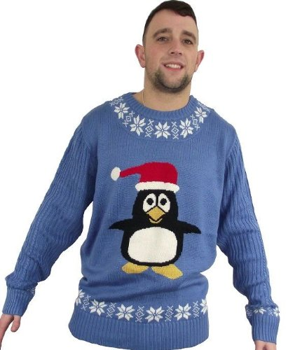 Percy Penguin Unisex Christmas Jumper