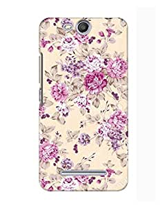 Pick Pattern Back Cover for Micromax Canvas Juice 3 Q392 (MATTE)