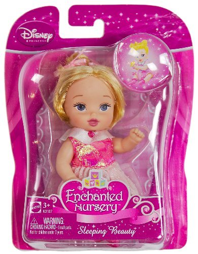 Buy Low Price Mattel Sleeping Beauty (K0187) – Disney Princess Enchanted Nursery Figure (B003589RJY)