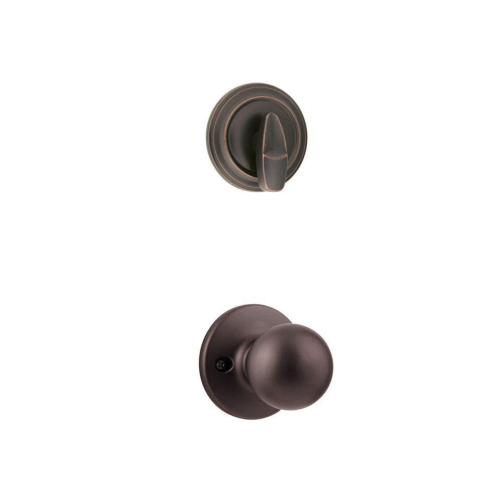 Kwikset - Polo Single Cylinder Venetian Bronze Interior Pack Knob цена и фото