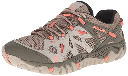 Merrell Women's All Out Blaze Aero Sport Hiking Water Shoe, Beige/Khaki, 6 M US