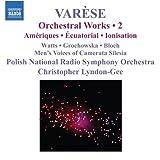 ヴァレーズ:管弦楽作品集 第2集