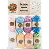 Lion Brand Yarn 601-620 Bonbons Yarn, Pastels