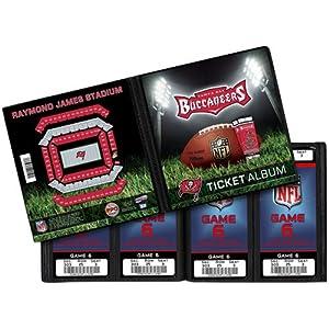 NFL Tampa Bay Buccaneers Ticket Album by That