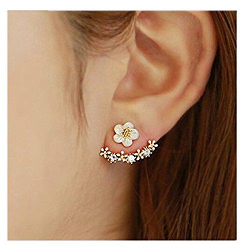 SwirlColor-Neue-Art-kleine-nette-Gnseblmchen-Blumen-Bolzen-Ohrringe-fr-UPC-Frauen-Schmuck-Accessoires