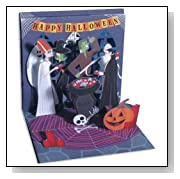 Monster Party Pop up Hallowen Card