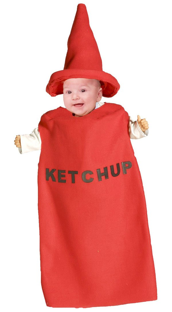 Ketchup Baby Costume