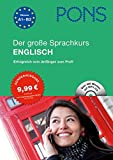 PONS Der große Sprachkurs Englisch - Erfolgreich vom Anfänger bis zum Profi! Buch mit 416 Seiten + CD.