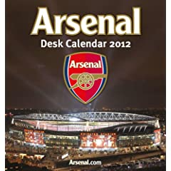 Official Arsenal FC Desk Calendar 2012