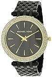 Michael Kors Darci Black Dial Black Ion-plated Ladies Watch MK3322