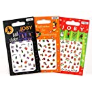 Joby Nail Art/stickers - Holiday #1 - Combo Pack