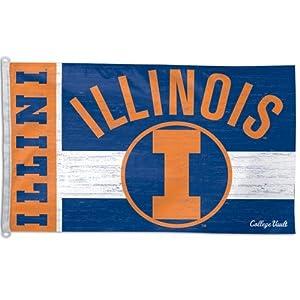 Buy Wincraft Illinois Fightin Illini College Vault 3x5 Flag by WinCraft
