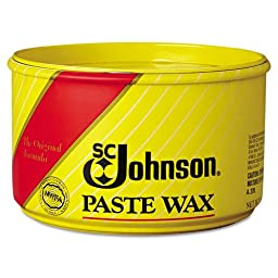 SC Johnson Paste Wax, Multi-Purpose Floor Protector, 16 oz. Tub - six 16-ounce tubs per case.