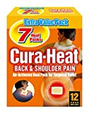 Cura Heat Back & Shoulder Pain - 2 x 7-Pack