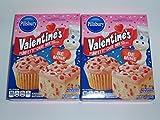 Pillbury Valentine's Funfetti Cake Mix Pack of 2