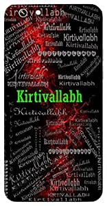 Kirtivallabh (Aspirant Of Fame) Name & Sign Printed All over customize & Personalized!! Protective back cover for your Smart Phone : Samsung Galaxy S5 / G900I