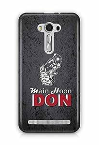 YuBingo Main Hoon Don Designer Mobile Case Back Cover for Asus Zenfone 2 Laser 550