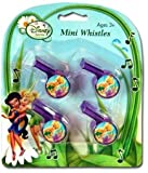 Disney Fairies 4Pk Mini Toy Whistles