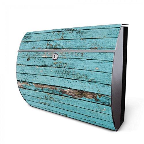 design edelstahl briefkasten designer wandbriefkasten halbrund kaufen f r a4 post rostfrei 2. Black Bedroom Furniture Sets. Home Design Ideas