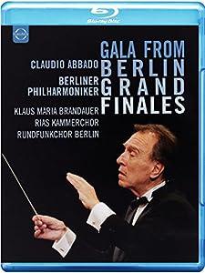 Gala From Berlin: Finales [Claudio Abbado, Klaus Maria Brandauer, Berliner Phiharmonker] [BLU RAY] [Blu-ray] [2014]