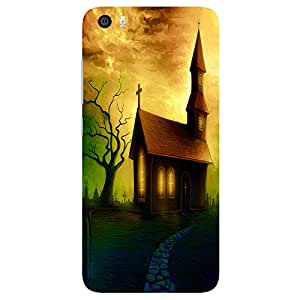 Beautiful Church - Mobile Back Case Cover For Xiaomi Mi 5