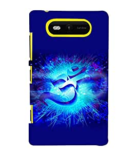 printtech Om Namah Shivaya Back Case Cover for Nokia Lumia 820::Microsoft Lumia 820