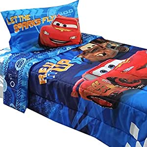 disney cars 2 twin full bedding comforter sheet set